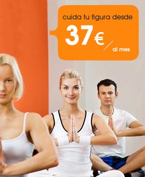 cuida tu figura desde 37 euros al mes